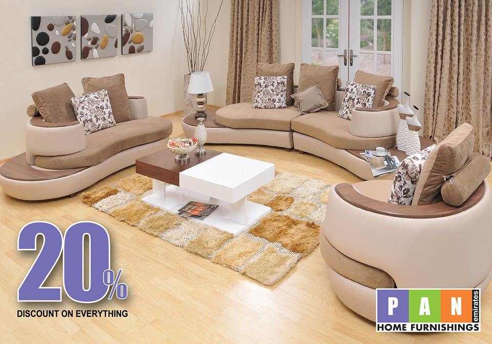 Pan emirates uae sale offers locations store info for Affordable furniture uae