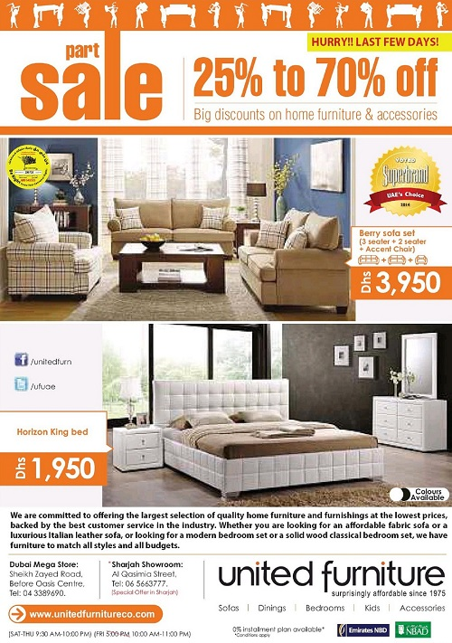 United furniture uae sale offers locations store info Home furniture online uae