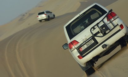 desert safari deals abu dhabi pickup